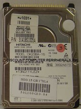 "15GB 2.5"" IDE Drive Hitachi DK23BA-15 Tested Good Free USA Ship Our Drives Work"
