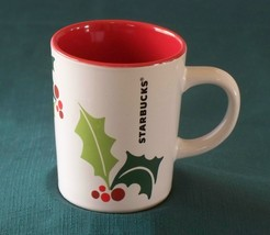 Starbucks Winter Holly Coffee Mug Very Good Condition - $9.00