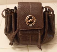 SEE BY CHLOE Leather Drawstring Mini Green Crossbody Handbag (MAKE AN OF... - $302.45