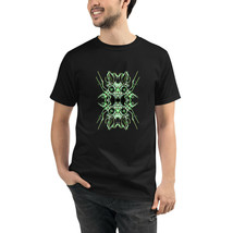 Sci-Fi Black Unisex Organic T-Shirt Eco Friendly Sustainable Men Women - $31.68+
