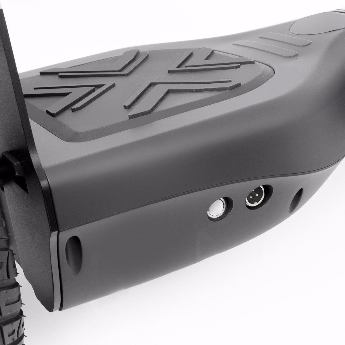 """Black Heavy Duty Metal All Terrain Off Road Bluetooth Hoverboard 8.5"""" Scooter"""