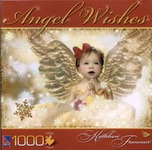 Angel Wishes Puzzle by Kathleen Francour : Snowflake - $29.98