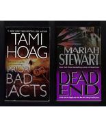 Tami Hoag and Mariah Stewarl PB Lot of 2 Books   - $6.99