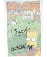 NANCY CARTWRIGHT VOICE OF BART SIMPSON AUTOGRAPHED BART SIMPSON PAPER 6 ... - $16.81