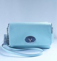 NWT Coach Crosstown In Polished Pebble Leather #53083 / Seaglass - £82.25 GBP