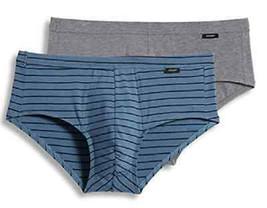Jockey Men's Solid Low-Rise Bikini Underwear Blue S - $14.84