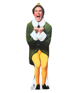 ELF Standee Outdoor Stand Up Will Ferrell  Christmas Decoration Lifesize... - $59.95