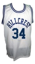 Ray Allen Hillcrest High School Basketball Jersey New Sewn White Any Size image 1