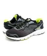 Fila Mens 11 Maranello Indus Cool Max Gray Black Low Top Lace Up Sneaker... - $29.99