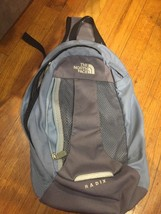 The Northface Backpack Mesh Pocket  One Strap Periwinkle Blue/Gray - $24.70