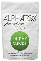 Alphatox 14 Day Premium Detox Tea Cycle   Helps Lose Weight Naturally, Full of A - $33.14