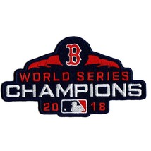 Official Licensed Boston Red Sox 2018 MLB World Series Champions Patch - $14.80