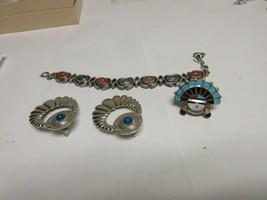 Costume Jewelry , Vintage , Bracelet , Earrings , Pin - $45.00