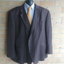 Mens Geoffrey Beene sport coat blazer suit jacket 54R  - $28.71