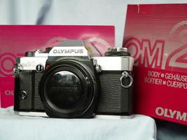 Olympus OM20 35mm Boxed SLR Camera c/w Inst -Nice- - $50.00
