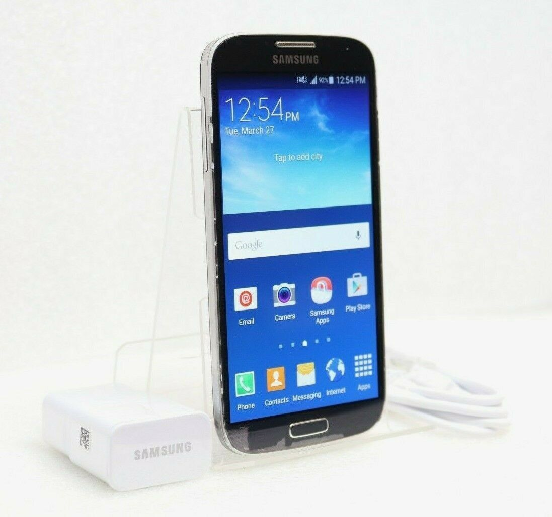 Samsung Galaxy S4 16gb Gsm Unlocked Smartphone Sgh I337m Black
