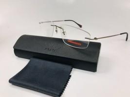 New PRADA SPORT VPS 54E ROU-1O1 Bronze Rimless Eyeglasses 55mm with Case - $143.55