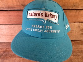 NATURE'S BAKERY Energy For Life's Great Journeys Fitted 7 5/8 Adult Cap Hat - $15.83