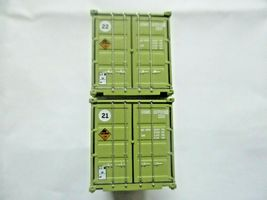 Jacksonville Terminal Company # 205456 USMC A 20' Container Military Series (N) image 3