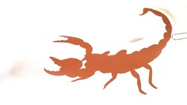 scorpion decal ideal cars, trucks, home etc easy to apply