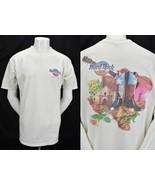 Hard Rock Cafe T Shirt San Antonio Texas Alamo Guitar Western Cowboy Boo... - $16.78