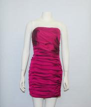 Express Fuschia Magenta Rouched Strapless 4% Spandex Clubbing Mini Dress... - $39.60