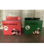 Club Nintendo Limited GameCube Controller Mario & Luigi From Japan Official - $356.39