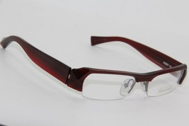 New Alain Mikli A 0807 15 Burgundy Eyeglasses Authentic Rx A0807 51-17 W/CASE - $101.40