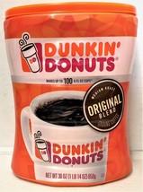 Dunkin Donuts Original Blend Ground Coffee 30 oz - $17.77