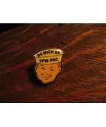 VFW Michigan Lapel Pin - Vintage 1994 Veterans Of Foreign Wars Sailor Ja... - $19.79