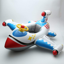 Inflatable Airplane Baby Kids Toddler Infant Swimming Float with seat - $32.99