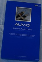 Auvio 12-ft Rca Stereo Audio Cable - Brand New In Package - 1500222 - $16.82
