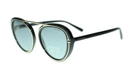 Tiffany Co., TF4147 80011 Black Round Frame Grey Lens Sunglasses 54mm - $208.55
