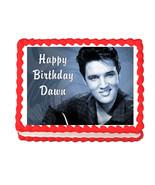 Elvis edible cake image cake decoration frosting sheet - personalized free! - $7.80