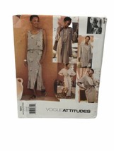 Vogue Sewing Pattern ADRI Loose Fitting Jacket Skirt Top and Pants #1811... - $12.86
