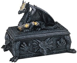 George S. Chen Imports SS-G-71298 Dragon Trinket Box Collectible Fantasy... - $28.37