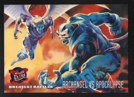 Ray Lago SIGNED X-Men Art Trading Card ~ Archangel V Apocalypse 1995 Fleer Ultra - $16.82