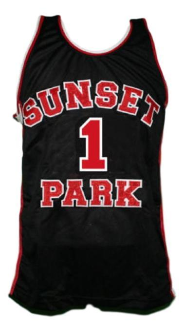 Fredo starr shorty  1 sunset park movie basketball jersey black   1