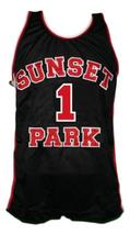 Fredo Starr Shorty #1 Sunset Park Movie Basketball Jersey New Black Any Size image 1