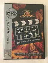 Screen Test Movie Trivia DVD Board Game for Adults Teens New Sealed - $9.99