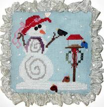 Snow Pals holiday winter cross stitch chart Praiseworthy Stitches - $5.40
