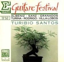 Guitar Festival [Audio CD] Santos,Turibio - $19.00