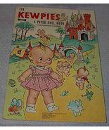 Kewpies Kewpieville Paper Doll Book Uncut Rose O'Neill - $25.00