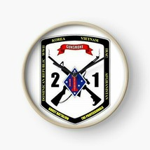 USMC 2nd Battalion 1st Marines Division Wall Clock - $69.29