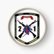USMC 2nd Battalion 1st Marines Division Wall Clock - $69.29