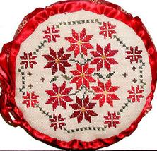 Christmas Quaker Pyn Tuffet holiday cross stitch chart Praiseworthy Stitches - $9.00