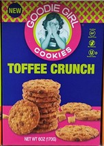 Goodie Girl Toffee Crunch Gluten Free Cookies 6 oz Pack of 4 - $35.62