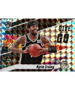 Kyrie Irving Mosaic 19-20 #1 Give and Go Silver Mosaic Prizm Brooklyn Nets  - $4.50