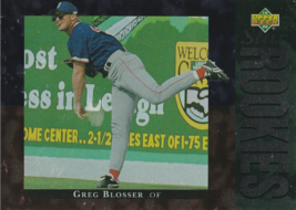 1994 Upper Deck #5 Greg Blosser - $0.50