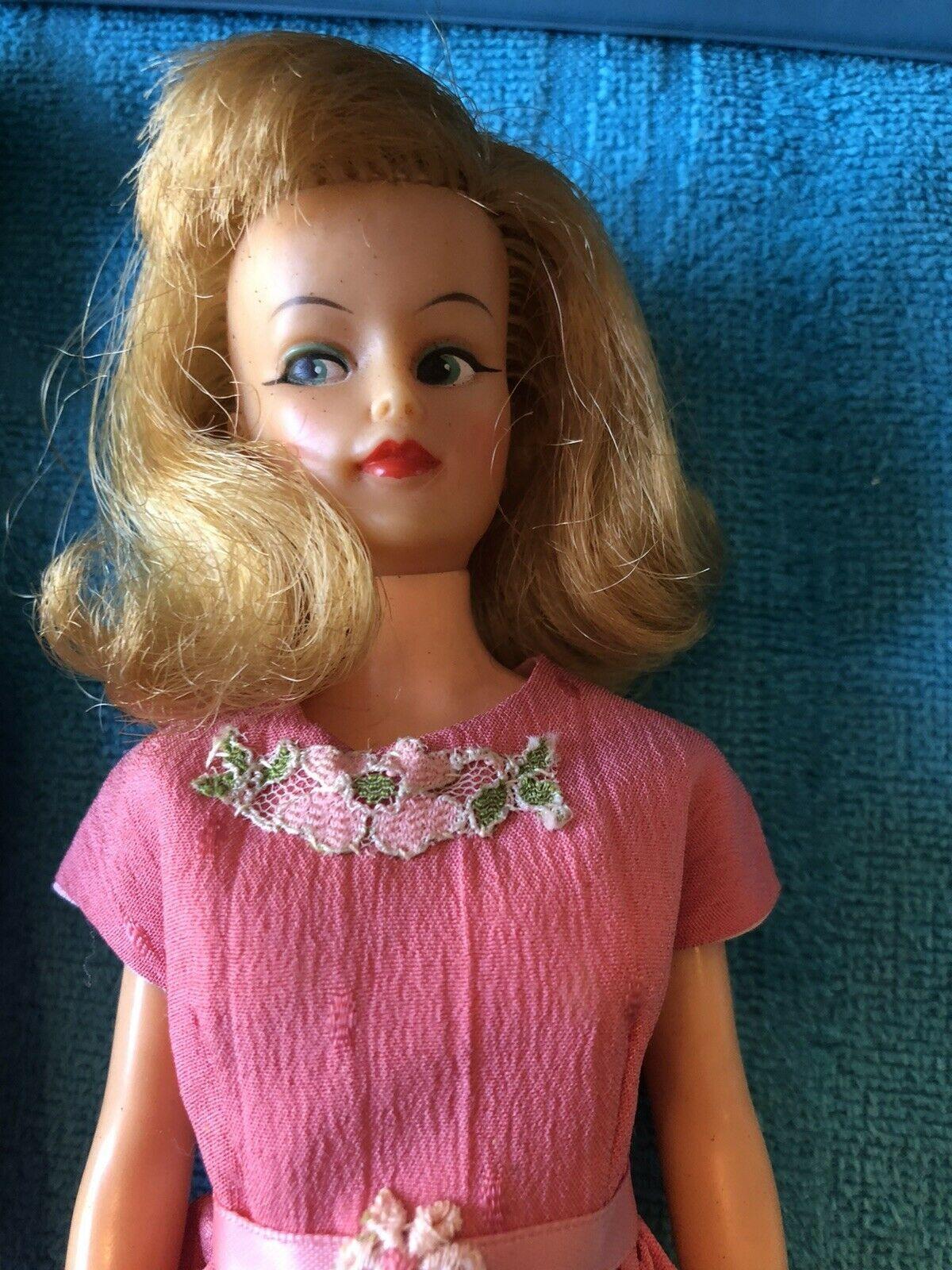VINTAGE IDEAL 1965 Original Misty Doll & Original Clothes & Tammy Case HtF - $49.49